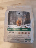 adult sterilized cat | grain free - Product - fr