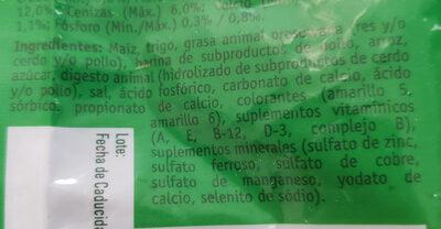 Abrazzos Dog Chow Purina Adultos - Ingredients