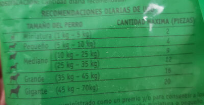 Abrazzos Dog Chow Purina Adultos - Nutrition facts