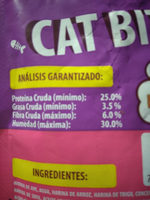 Cat Bites - Nutrition facts