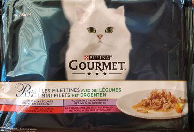 Gourmet Perle Les Filettines avec légumes - Product - fr