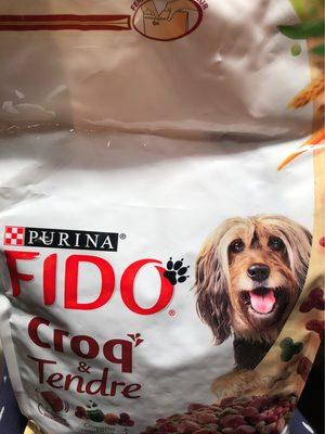 1.5KG Croquettes Bien Etre Boeuf Cereales Legumes Fido - Product