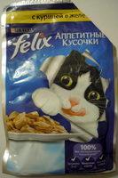 Felix Аппетитные кусочки с курицей в желе - Product - ru