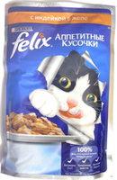 Felix Аппетитные кусочки с индейкой в желе - Product