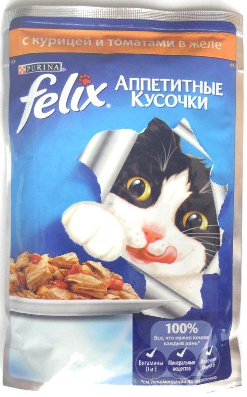 Felix Аппетитные кусочки с курицей и томатами в желе - Product