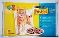 Friskies aux poissons et légumes en sauce - Product - fr