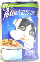 Felix Аппетитные кусочки с кроликом в желе - Product