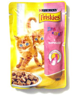 Friskies для котят с курицей - Product