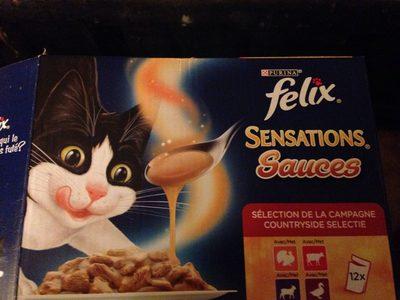 Félix sensations sauces - Product