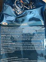 Purina One - Croquettes Au Saumon Et Blé Pour Chat Adulte Stérilisé - 3KG - Ingredients