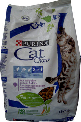Cat Chow 3-in-1 - Product