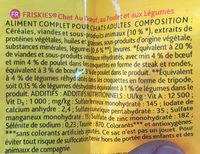Friskies Boeuf/Legumes - Ingredients