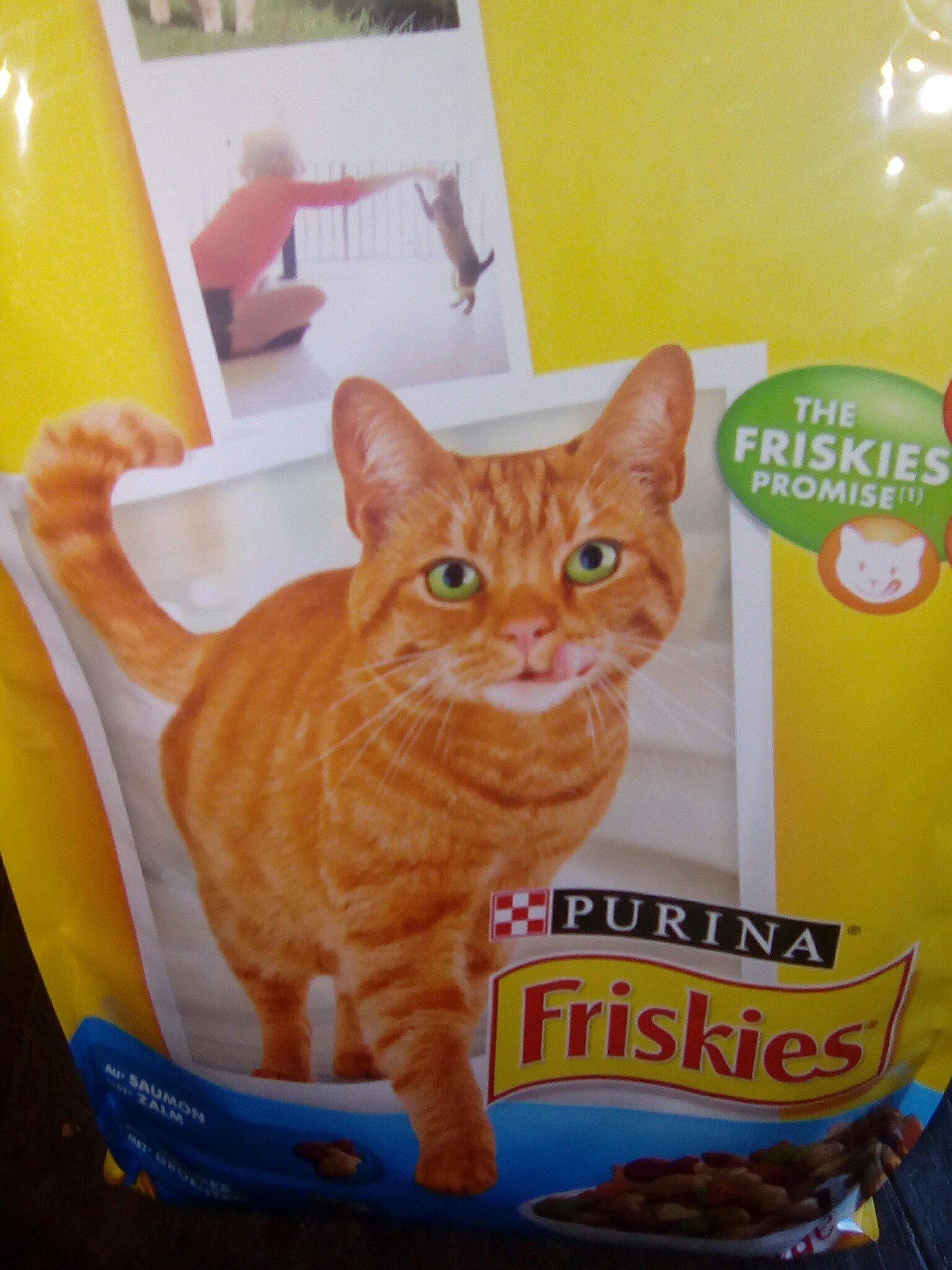 Friskies au saumon - Product