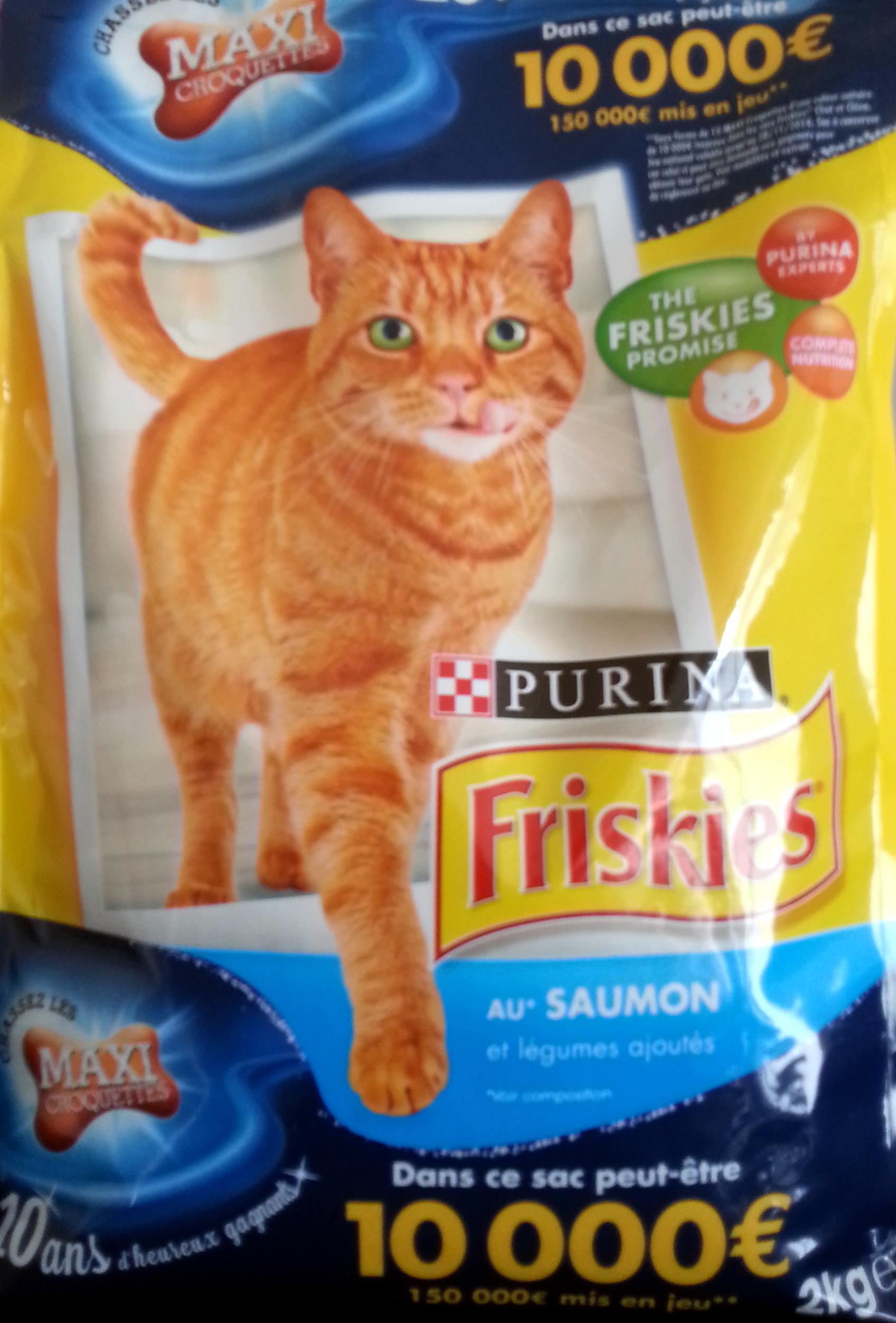 Friskies au saumon - Produit