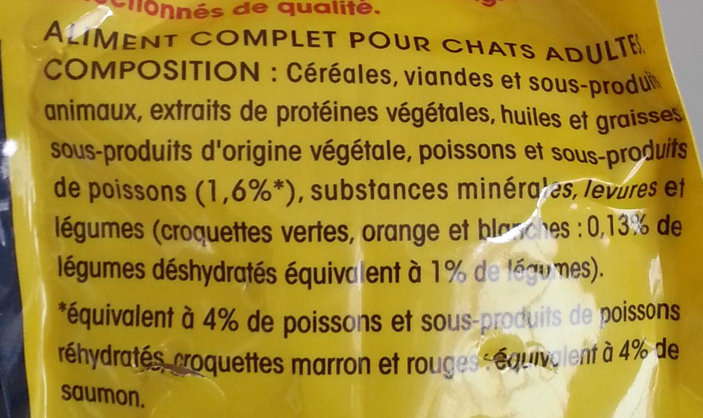Friskies au saumon - Ingredients