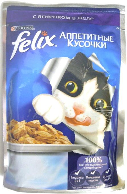 Felix Аппетитные кусочки с ягненком в желе - Product - ru