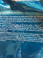 One Sec Chat Sterilise Poulet 6KG - Ingredients