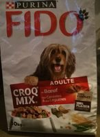 Fido croq mix adulte au beuf - Product