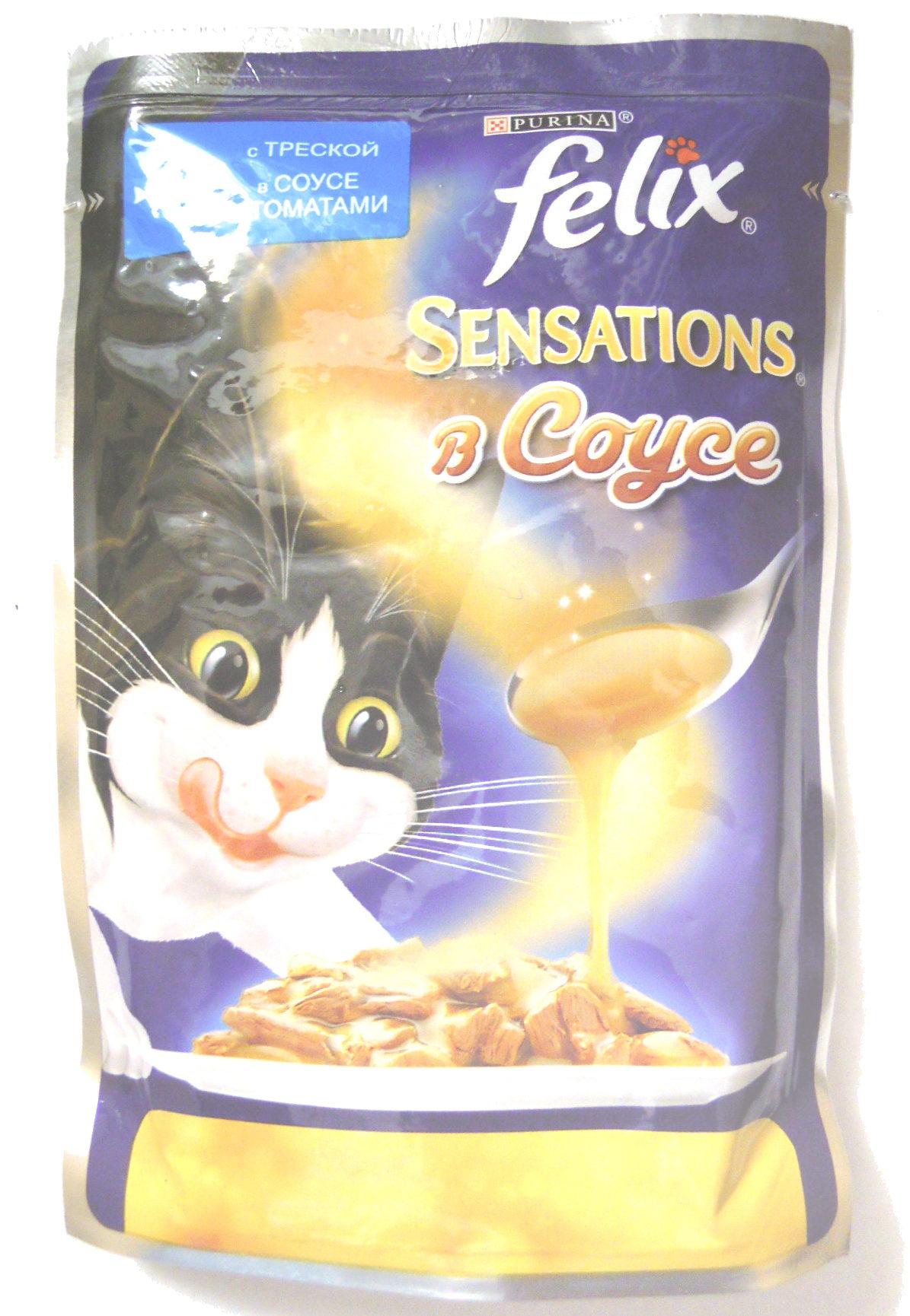 Felix Sensations в Соусе с треской в соусе с томатами - Product - ru