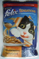 Felix Sensations в Удивительном Соусе с говядиной в соусе с томатами - Product