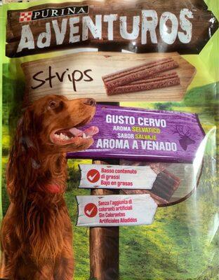 Adventuros Strips aroma a venado - Product