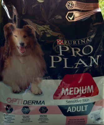 pro plan sensitive skin adult medium dog - Product