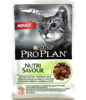 Purina Pro Plan Nutri Savour вкусные кусочки с ягненком в желе - Product