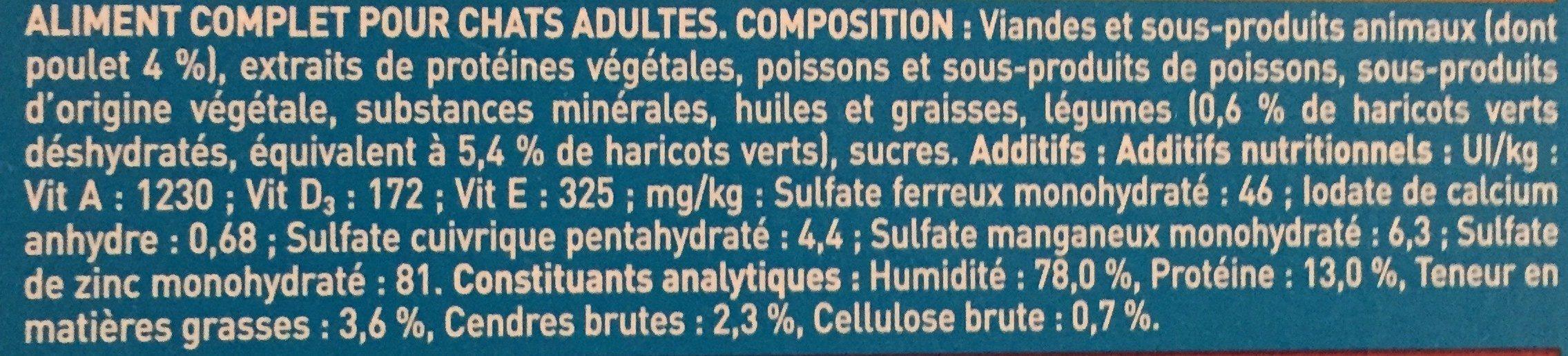 Effilés en sauce - Ingredients