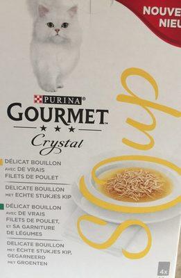 Delicat bouillon pour chat - Product - fr
