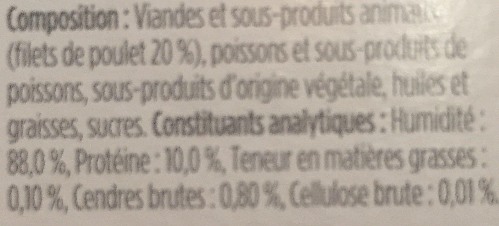 Delicat bouillon pour chat - Ingredients - fr