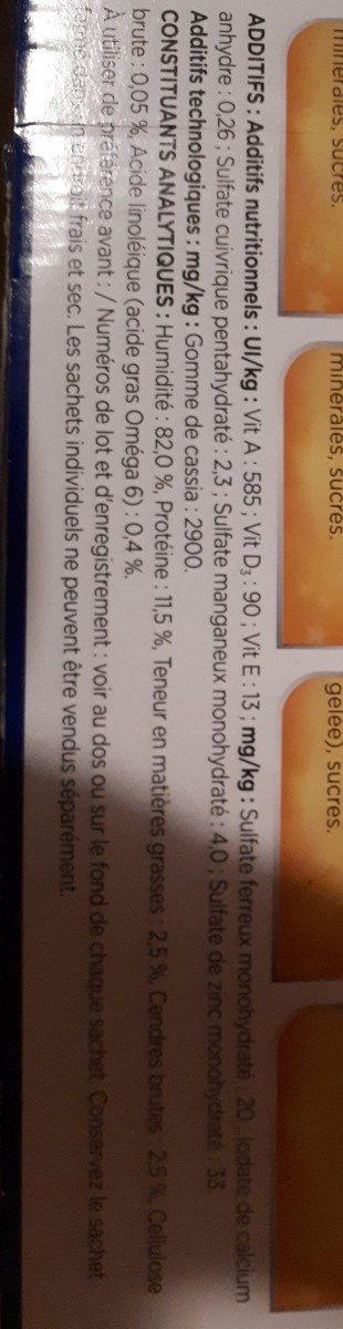 Sensations gelée - Ingredients