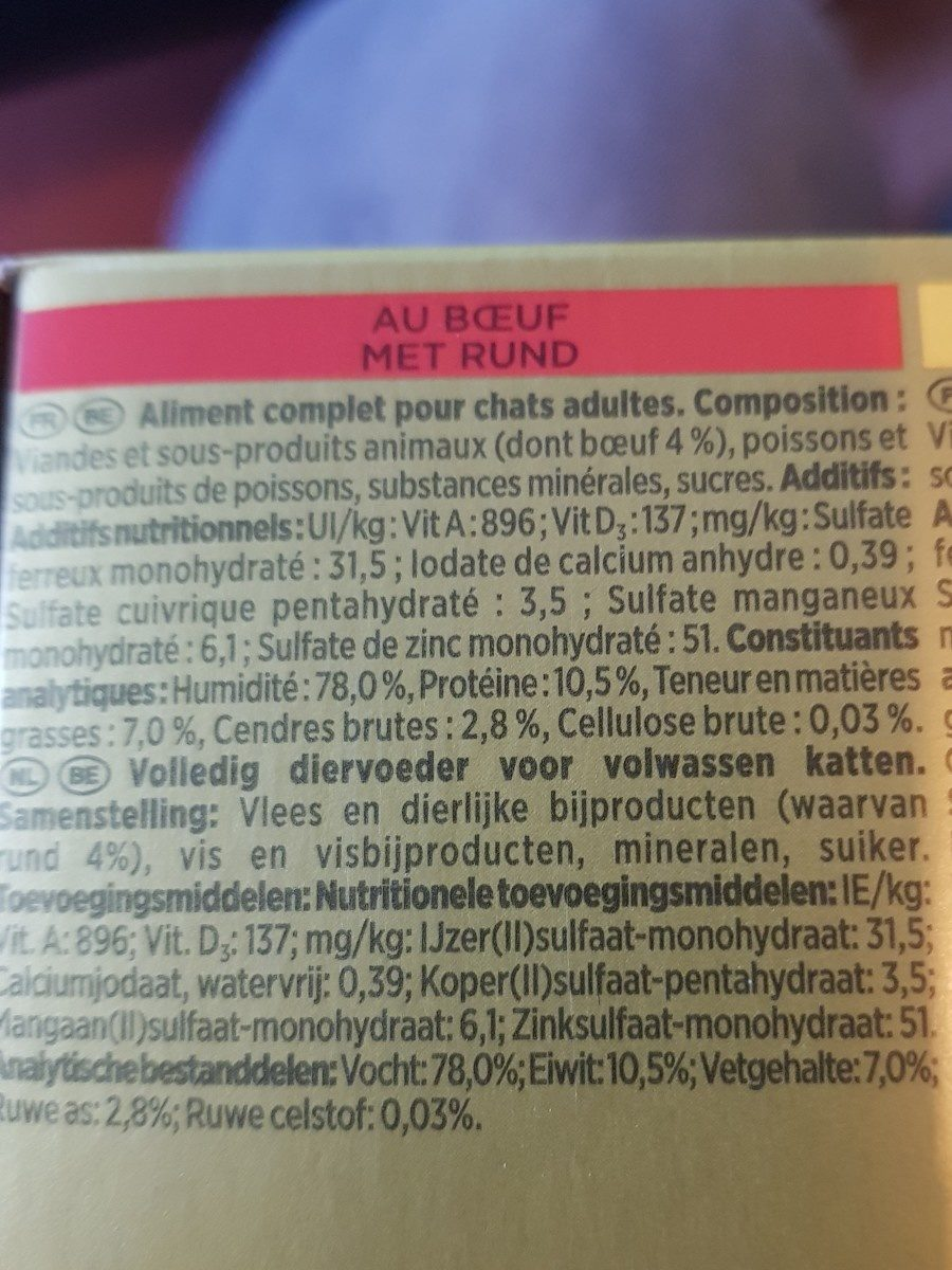 Gourmet - Ingredients