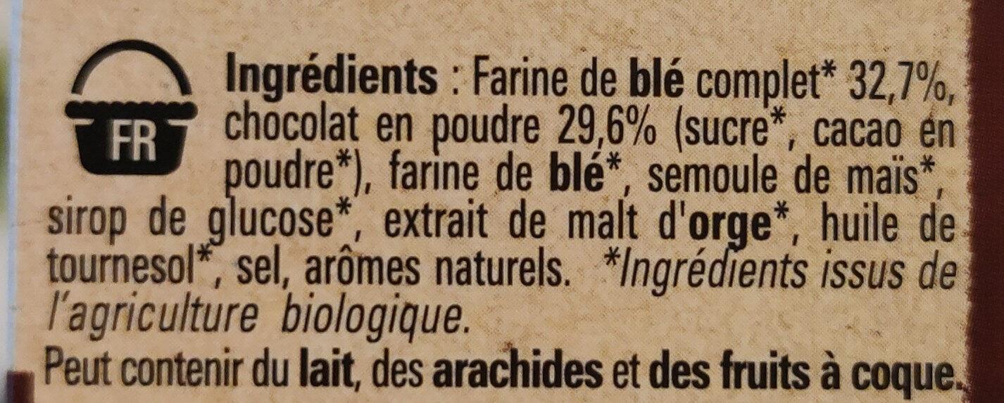 Chocapic bio - Ingredients - fr