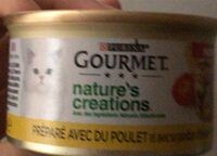 Aliment conplet pour chat adultes - Product - fr