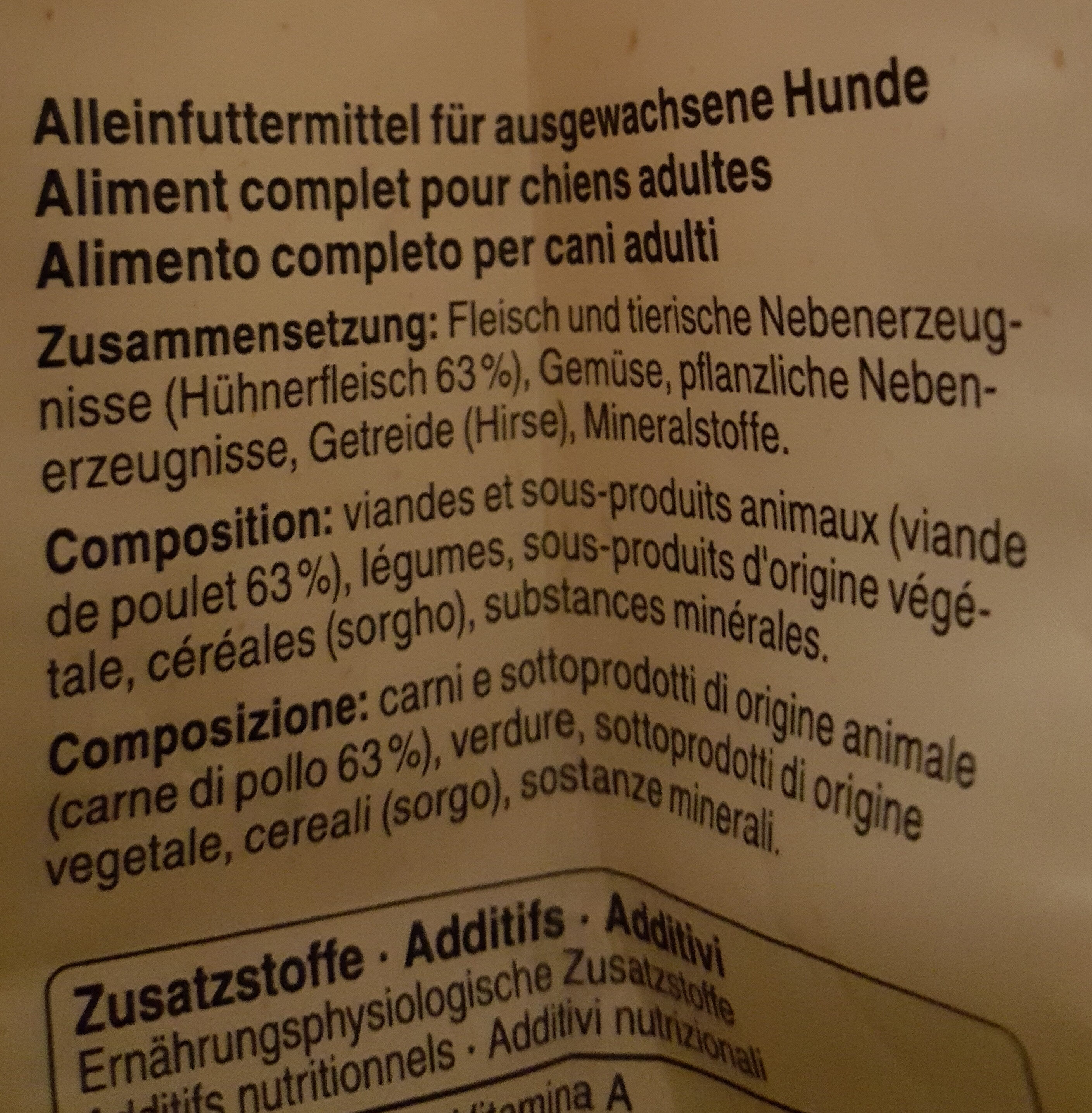 Natura plus - Ingredients - fr