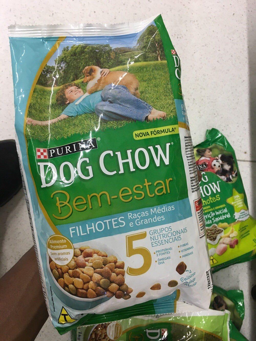 Alimento cão Dog chow bem estar 1kg filhotes - Product