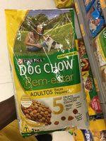 Alimento cão dog show bem estar 1kg adultos raças pequenas - Product