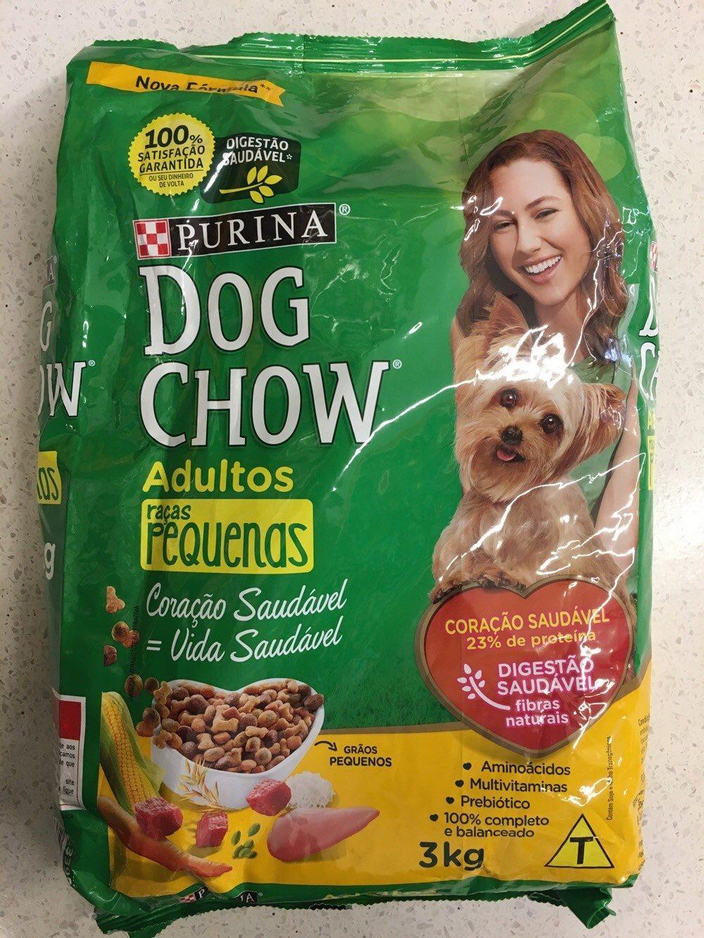 Alimento Dog chow 3kg raças pequenas - Product