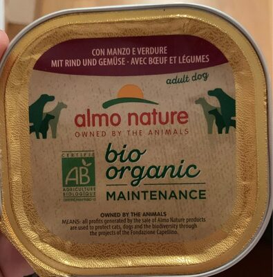 Almo Nature Dailymenu Adult Dog B?uf & Légumes - Product