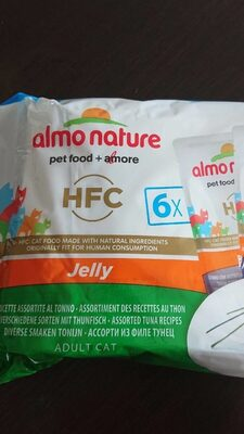 Almo Nature HFC Jelly L'assortiment Au Thon In Jelly- Multipack - Product