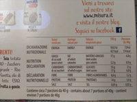 Muesli croccante con mandorle e uvetta - Nutrition facts