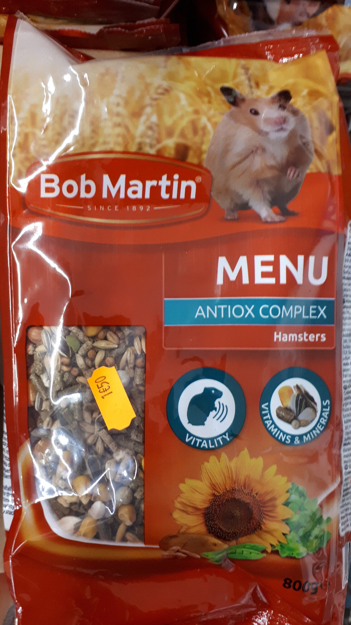 Aliment complet pour hamster - Product