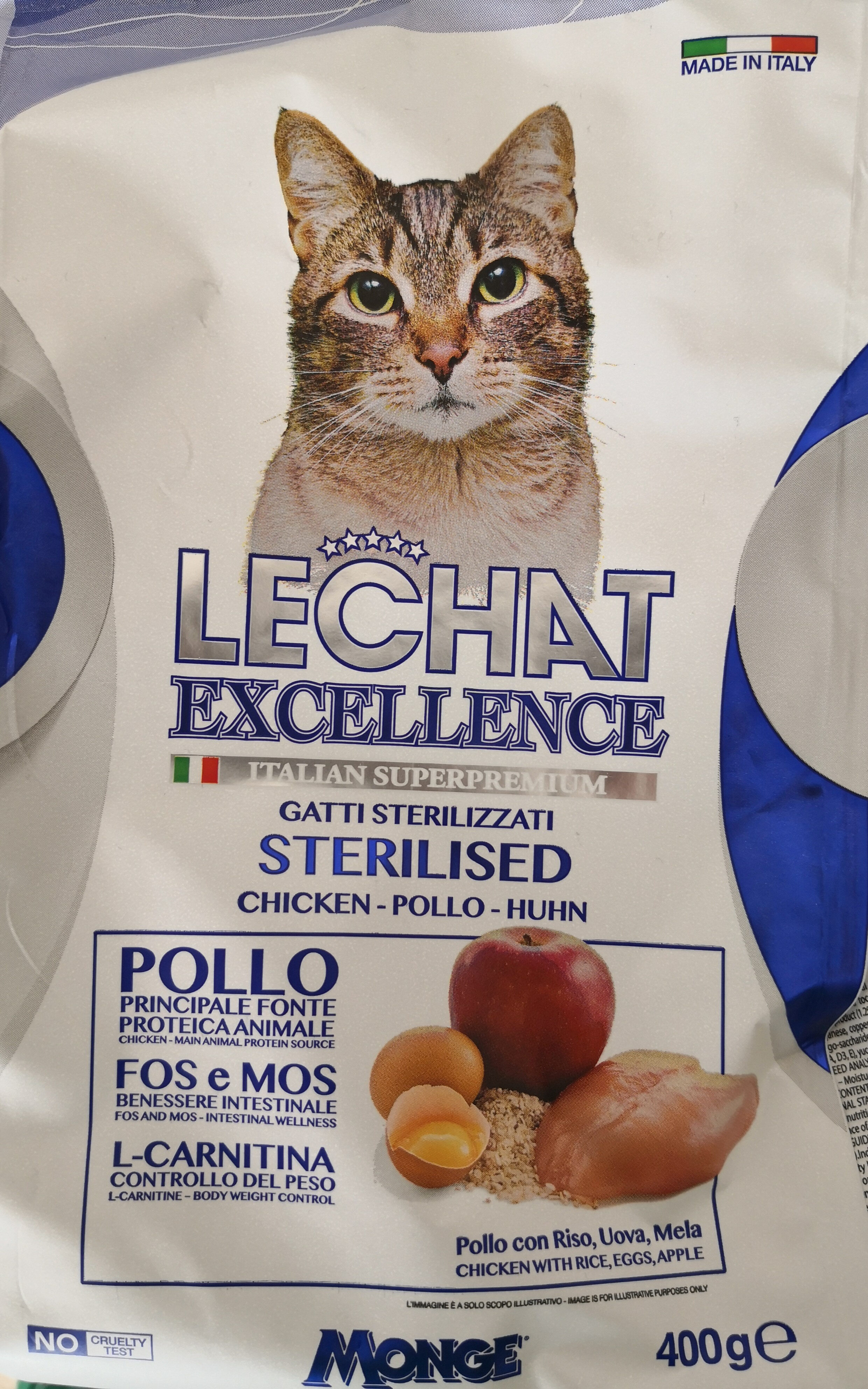 lechat excellence sterilised pollo - Product - it