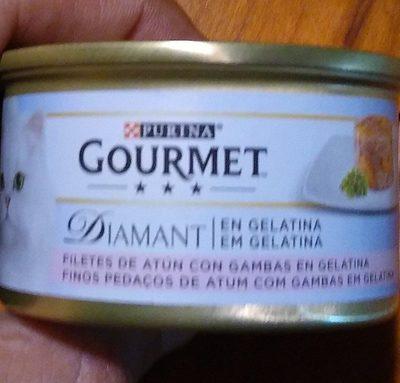 Filetes de atún con gambas en gelatina - Product - es