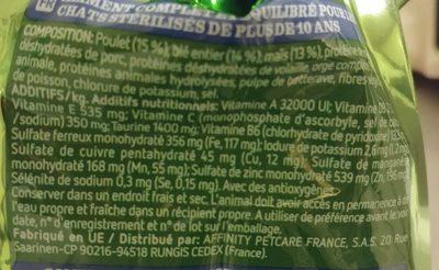 croquettes poulet - Ingredients - fr