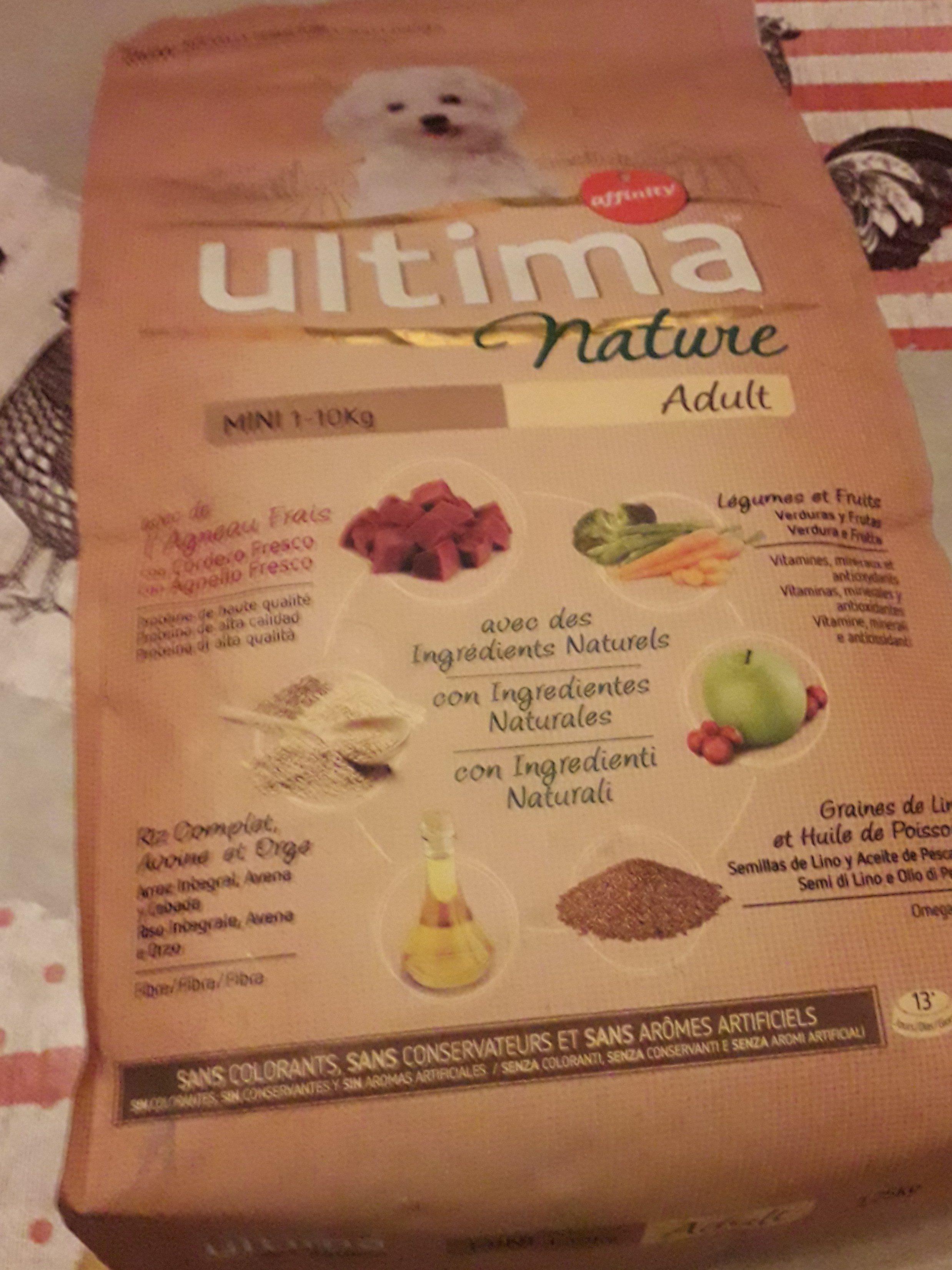Comida Para Perros Mini Ultima Nature Cordero 1,25 KG - Product - fr