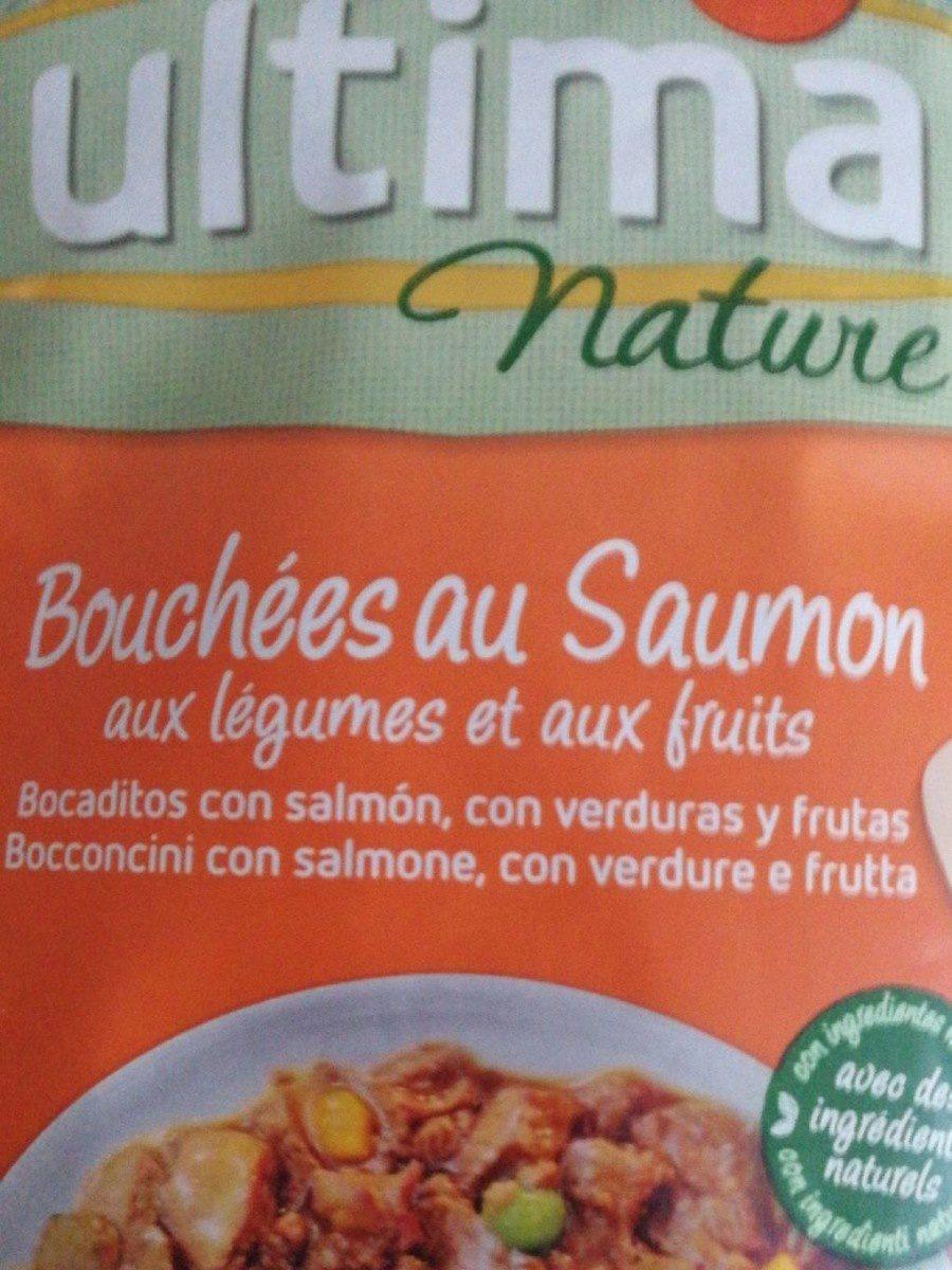 Ultima nature bouchées au saumon aux légumes et aux fruits - Product