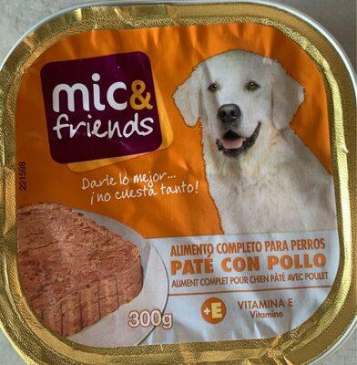 Paté con Pollo para Perros - Product - es