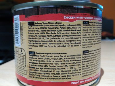 Ancestral - Nutrition facts