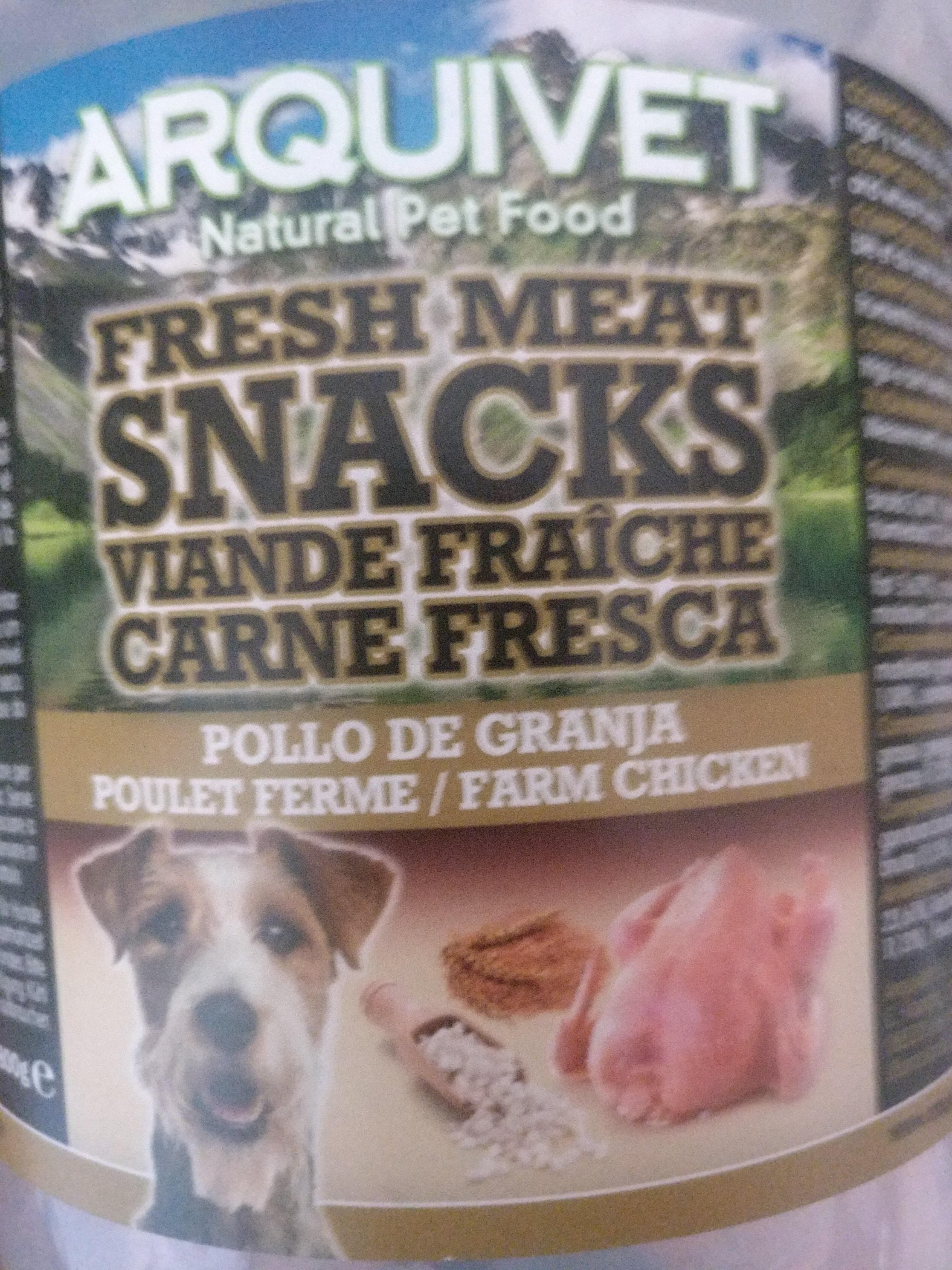 Arquivet natural pet food carne fresca - Product - es